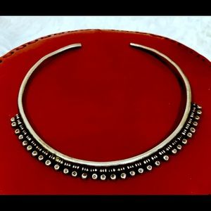 ON HOLD: Nepalese Tribal Silver Collar Necklace